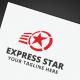 Express Star Logo - GraphicRiver Item for Sale