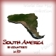 World Geo Map - South America