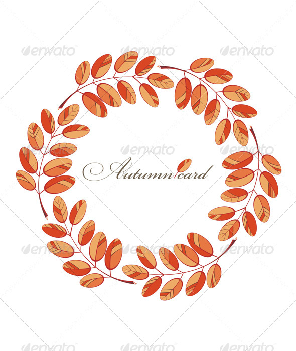 GraphicRiver Autumn Background 8730197