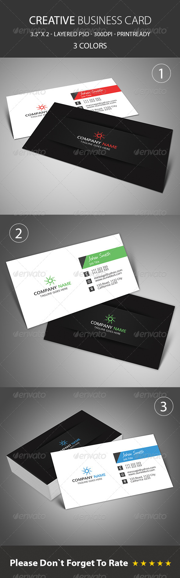 GraphicRiver Creative Business Card 8102296