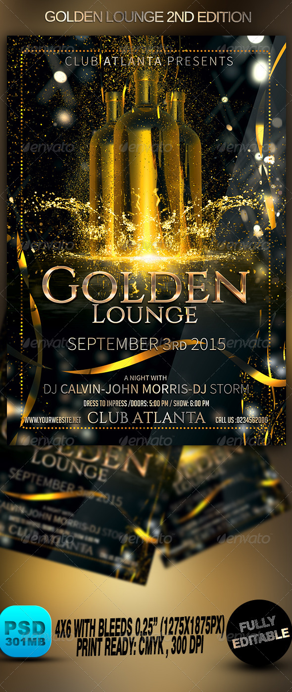 GraphicRiver Golden Lounge 2nd Edition 8730692