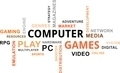 word cloud - computer games - PhotoDune Item for Sale