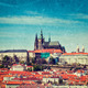 View of Hradchany: the Saint Vitus (St. Vitt's) Cathedral and Pr - PhotoDune Item for Sale