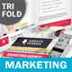 Marketing and Advertising Trifold Brochure - GraphicRiver Item for Sale