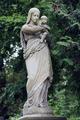 Old statue on grave in the Lychakivskyj cemetery of Lviv, Ukrain - PhotoDune Item for Sale