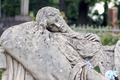 Old statue on grave in the Lychakivskyj cemetery of Lviv, Ukrain - PhotoDune Item for Sale