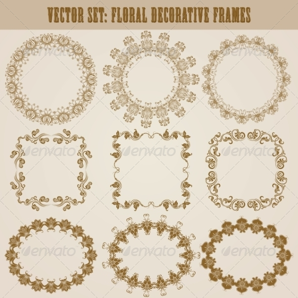 GraphicRiver Decorative Frames 8731471
