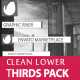 Clean Lower Thirds Package - VideoHive Item for Sale