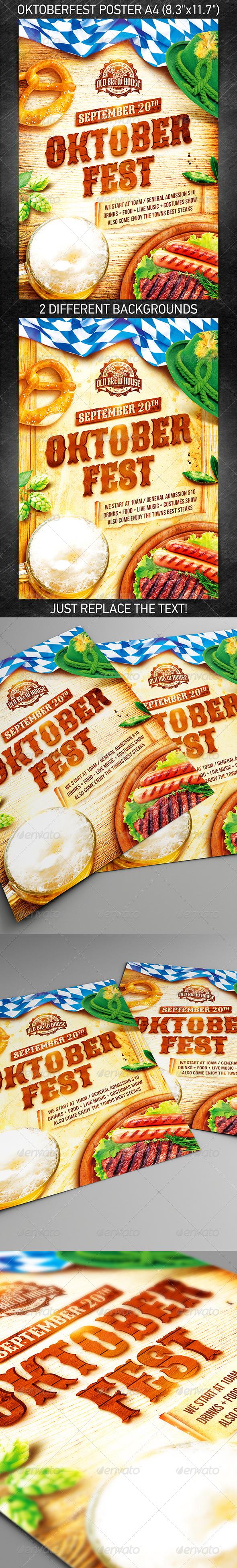 GraphicRiver Oktoberfest Festival Poster vol.3 8731608