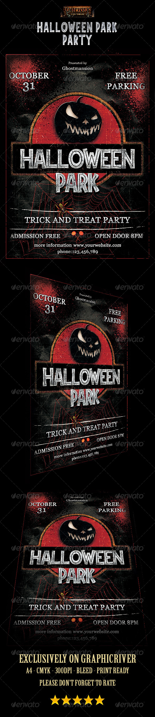 GraphicRiver Halloween Park 8731925