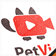 Pet Video Logo - GraphicRiver Item for Sale