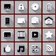 Flat Retro Icons - GraphicRiver Item for Sale