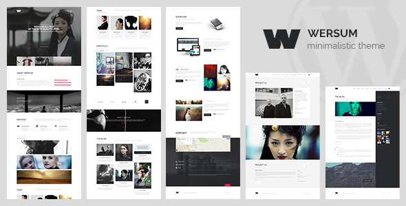 ThemeForest Wersum MultiPurpose Minimalistic HTML Theme 8732350