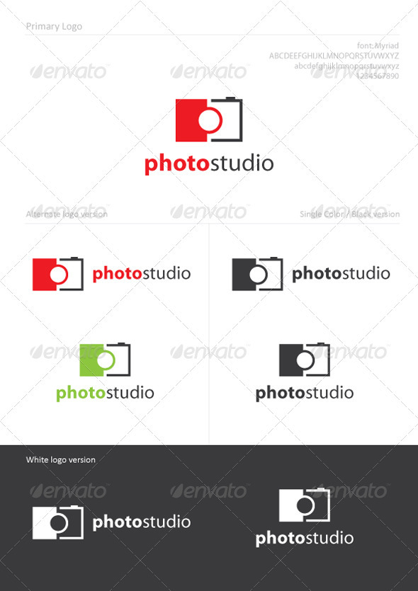 Graphic River Photo Studio Logo Templates -  Objects 888058