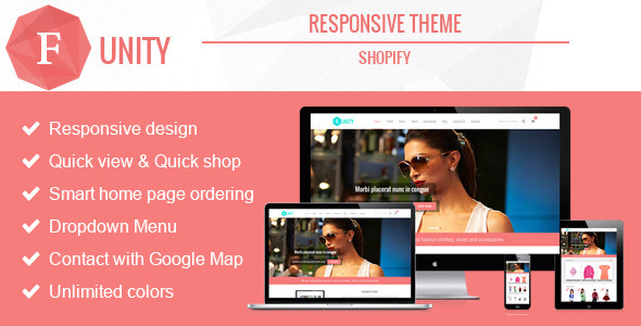 ThemeForest Funity Responsive Shopify Theme 8659237