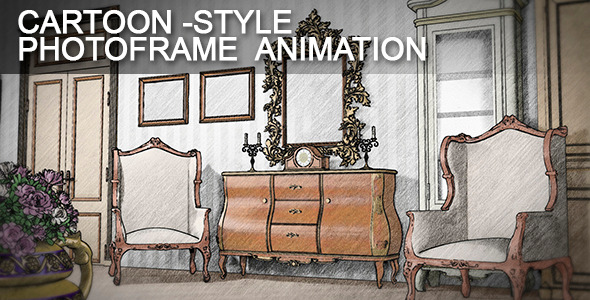 Cartoon Frames Slideshow