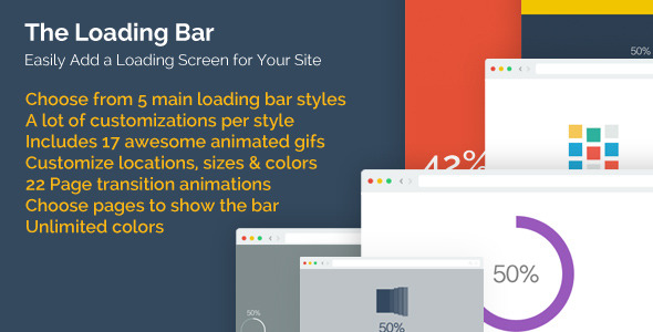 CodeCanyon The Loading Bar WordPress Plugin 8732899