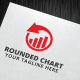 Rounded Chart Logo Template - GraphicRiver Item for Sale