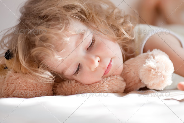 Child sleeping - Stock Photo - Images