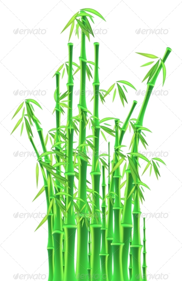 GraphicRiver bamboo Sticks 8733826