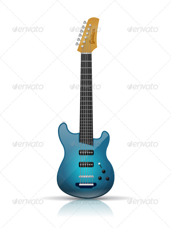 GraphicRiver Electric Guitar 8734125