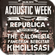 Acoustic Typography Flyer/Poster Vol.4 - GraphicRiver Item for Sale
