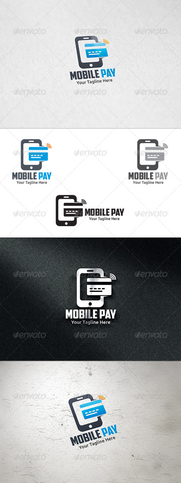 GraphicRiver Mobile Pay Logo Template 8734169
