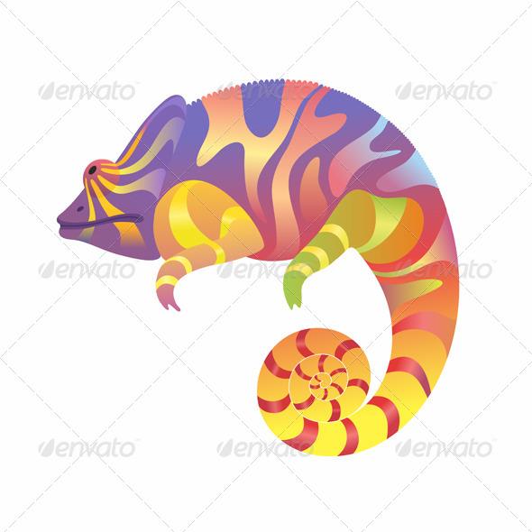 GraphicRiver Chameleon 8734172