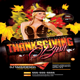 ThanksGiving Bash - GraphicRiver Item for Sale