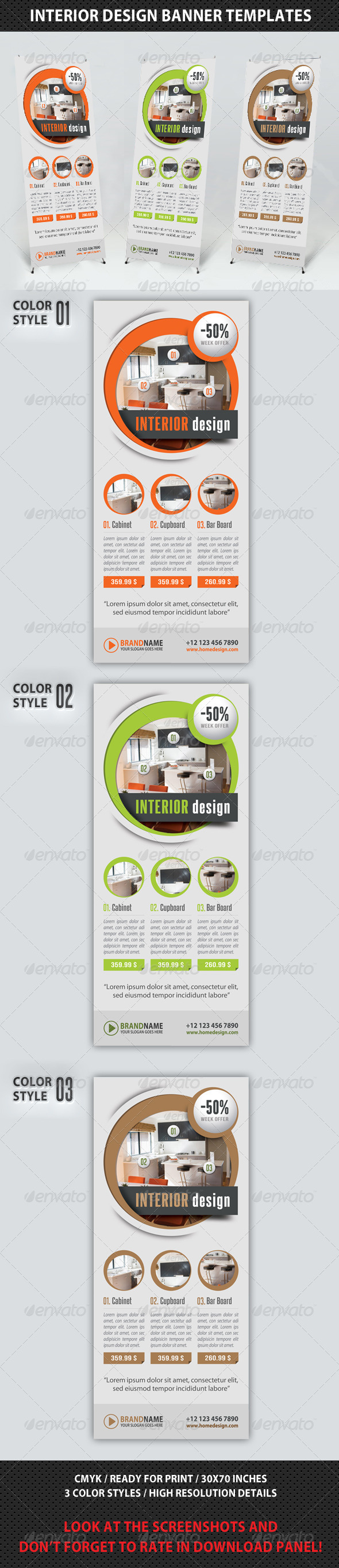 GraphicRiver Corporate Multipurpose Banner Template 70 8734230