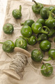green cherry peppers prepare to dry - PhotoDune Item for Sale