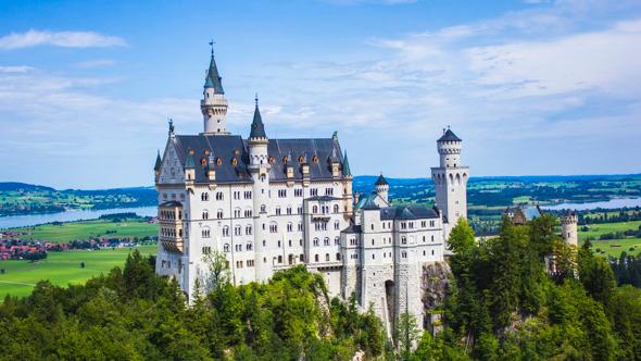 Bavaria Germany Neuschwanstein Castle