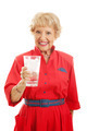 Senior Lady Drinks Water - PhotoDune Item for Sale