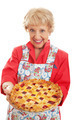 Retro Granny with Homemade Pie - PhotoDune Item for Sale