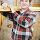 Handsome Worker Carries Lumber - PhotoDune Item for Sale