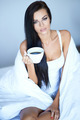 Young woman having a morning cup of coffee - PhotoDune Item for Sale