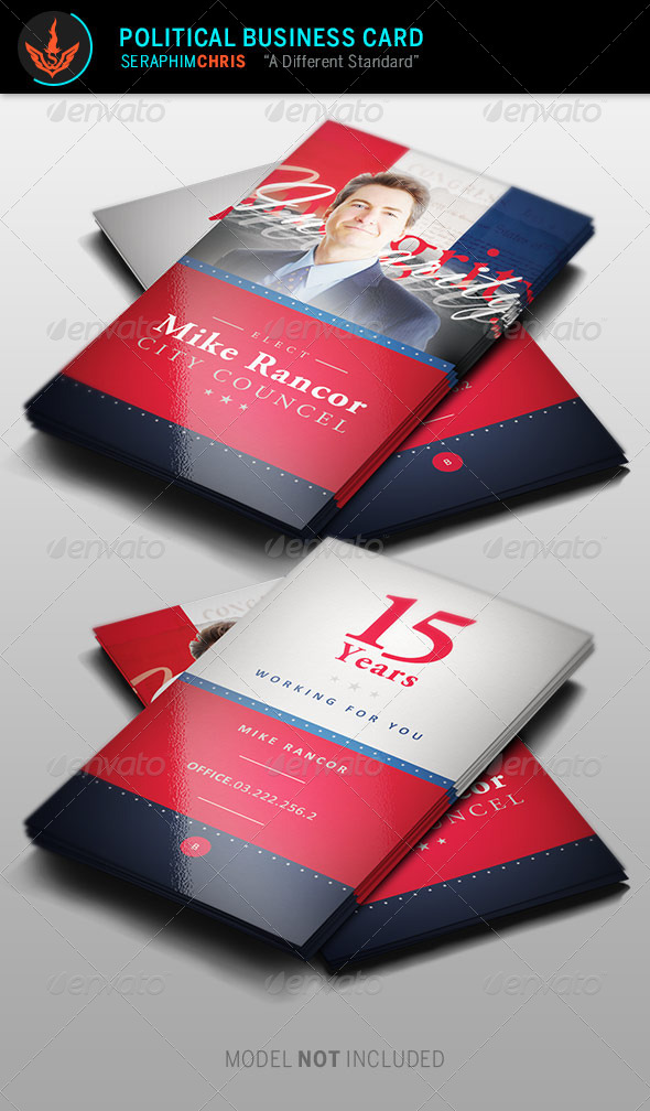 GraphicRiver Political Business Card Template 2 8736783