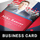 Political Business Card Template 2 - GraphicRiver Item for Sale