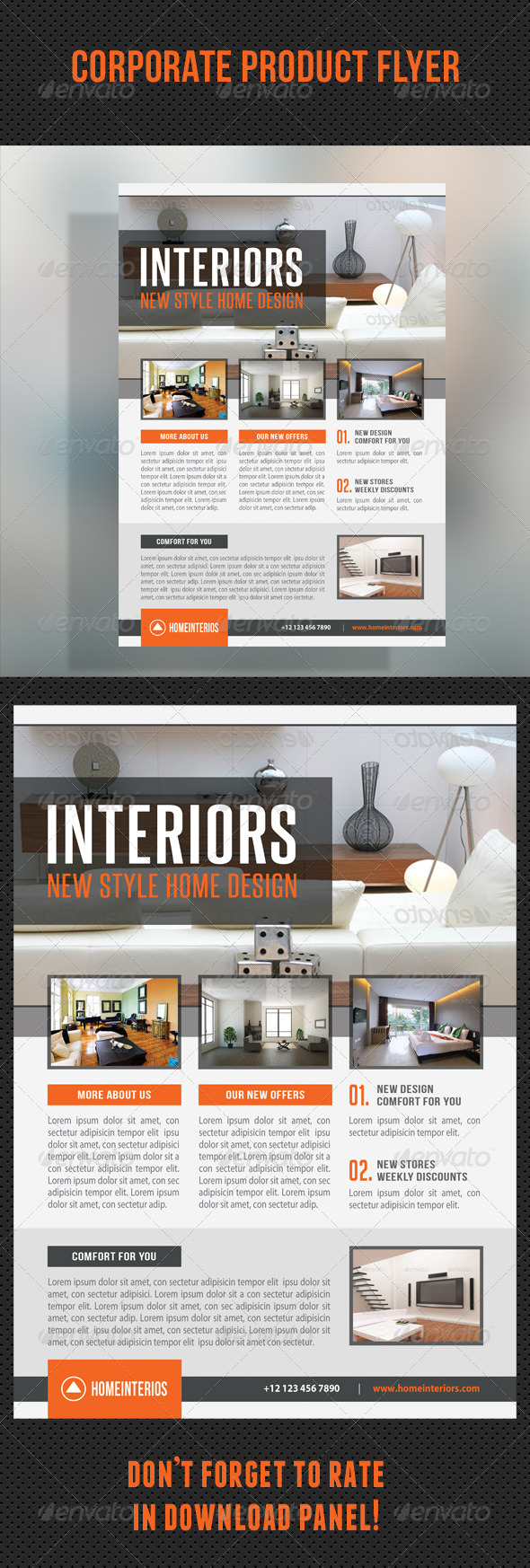 GraphicRiver Corporate Product Flyer 97 8736920