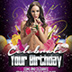 Birthday Celebration  (Flyer Template 4x6)  - GraphicRiver Item for Sale