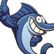 Cartoon Swordfish - GraphicRiver Item for Sale