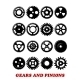 Gears and Pinions Set - GraphicRiver Item for Sale