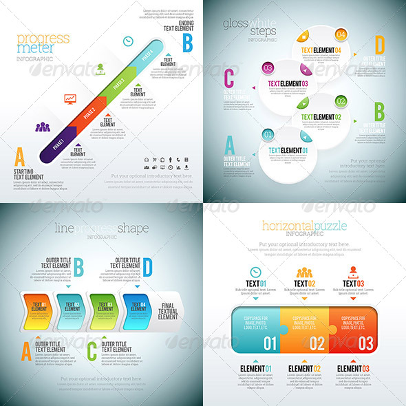 GraphicRiver Infographic 1 Set 8737488