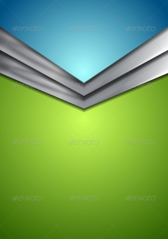 GraphicRiver Abstract Corporate Modern Background with Arrow 8737670