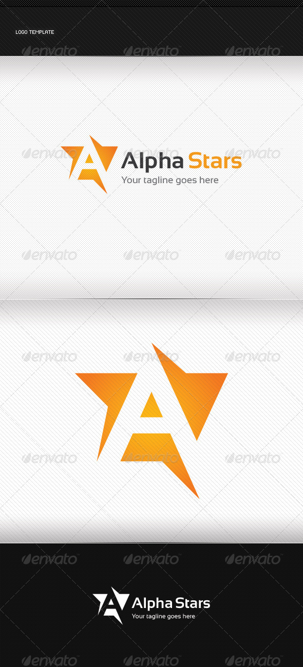 GraphicRiver Alpha Stars 8738201