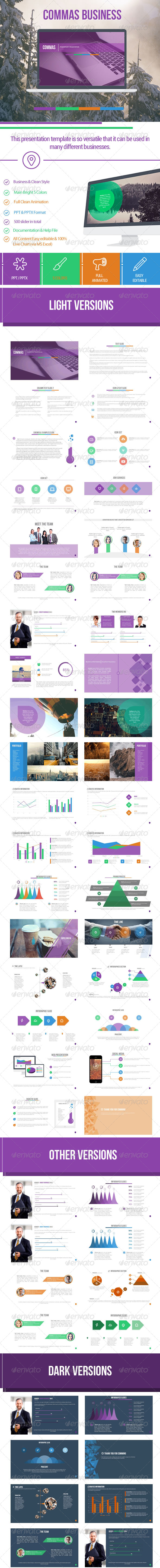 GraphicRiver Commas Business 8738315