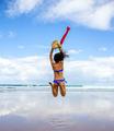 Woman jumping - PhotoDune Item for Sale