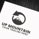 Up Mountain Logo Template - GraphicRiver Item for Sale