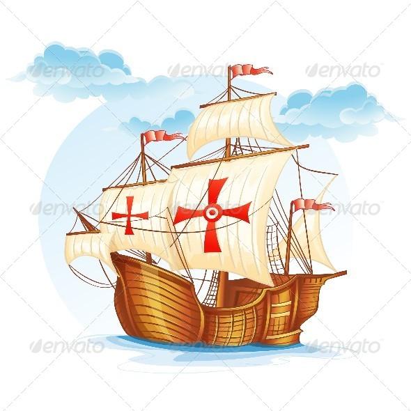 GraphicRiver Sailing Ship 8739125