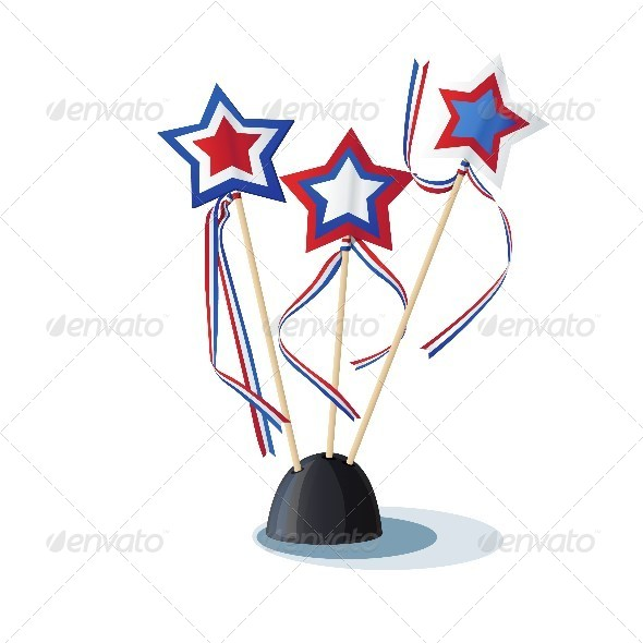 GraphicRiver Image of American Stars on the Stand 8739250